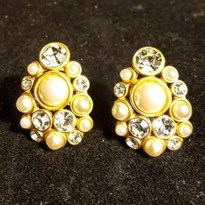 Vintage signed Blanca earrings